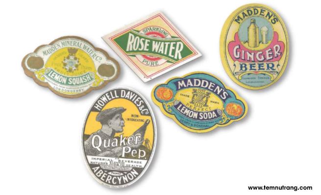 Sự bùng nổ in tem nhãn bia, rượu đã xuất hiện từ cuối những năm 1800