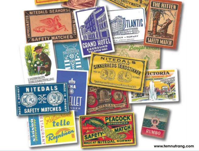 Những chiếc tem nhãn đầu tiên trên thế giới được dùng cho bao xì gà