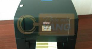 Máy in tem vàng Nhật Bản Citizen